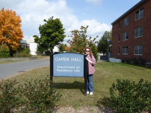 Me in front of Capen Hall