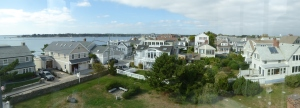 Stonington CT: The Old Lighthouse Museum ... view from the Top