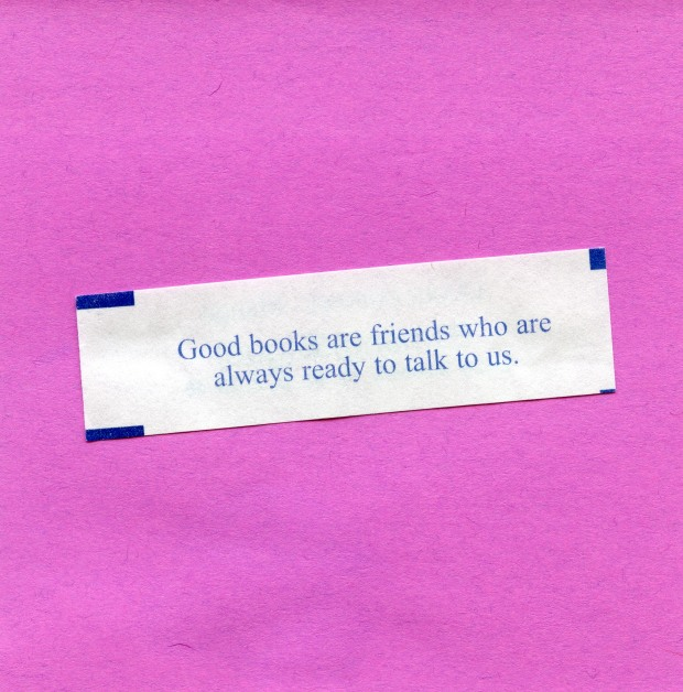Good books are friends