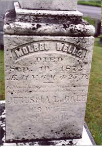 Wells - Molbro Wells Jerusha Louise Gale Wells