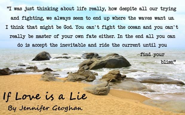 If Love is a Lie, a novel by Jennifer Geoghan