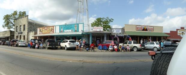 Bandera, Texas (before the parade)