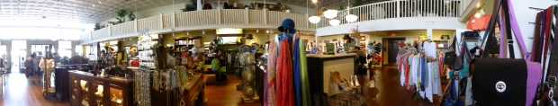 Old store with high end items in Fredericksburg