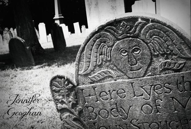 Palisado Cemetery, Windsor, CT as seen by Jennifer Geoghan